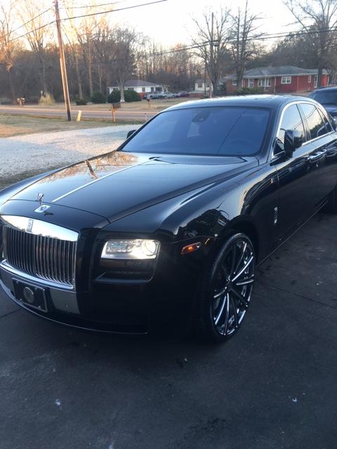 Black Phantom Rolls-Royce